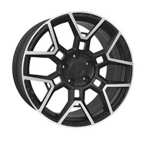 Диски Vissol Forged F-1120 MATE-BLACK-WITH-MACHINED-FACE-DARK-TINT-MATTE