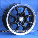 Диски Racing Wheels H-113 BK/P