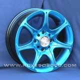 Диски Racing Wheels H-134 BLU