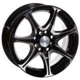 Диски Racing Wheels H-134 BK-F/P
