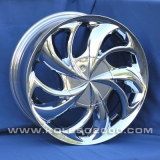 Диски Racing Wheels H-182 Chrome