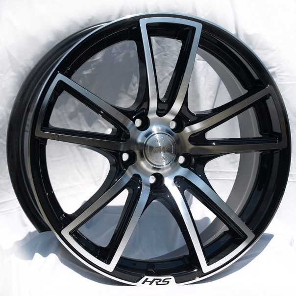 Литые диски Racing Wheels H-411 BK-F/P