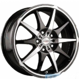 Диски Racing Wheels H-145 BK-F/P
