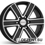 Диски DEZENT TJ Black/polished