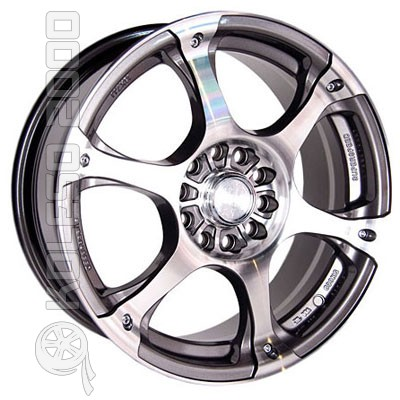 Диски Racing Wheels H-245 GM/FP