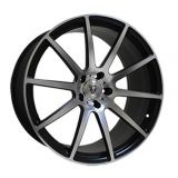 Диски Vissol Forged F-190 MATTE-BLACK-WITH-MATTE-POLISHE