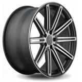 Диски Vissol Forged F-004 MATTE-GRAPHITE-MACHINED