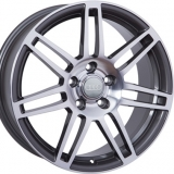 Диски WSP Italy AUDI W554 S8 COSMA ANTHRACITE+POLISHED