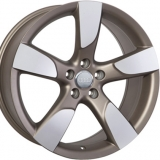 Диски WSP Italy AUDI W568 VITTORIA DULL+BRONZED+POLISHED