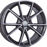 Диски WSP Italy AUDI W569 AIACE ANTHRACITE+POLISHED
