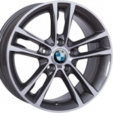 Диски WSP Italy BMW W681 ACHILLE ANTHRACITE+POLISHED