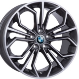 Диски WSP Italy BMW W671 VENUS ANTHRACITE+POLISHED