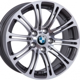 Диски WSP Italy BMW W670 M3 LuXor ANTHRACITE+POLISHED