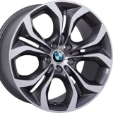 Диски WSP Italy BMW W674 AURA ANTHRACITE+POLISHED
