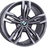 Диски WSP Italy BMW W683 ITHACA ANTHRACITE+POLISHED