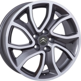 Диски WSP Italy CITROEN W3404 YONNE ANTHRACITE+POLISHED