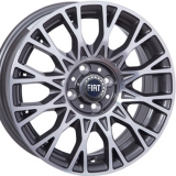 Диски WSP Italy FIAT W162 GRACE ANTHRACITE+POLISHED
