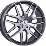 Диски WSP Italy MERCEDES W778 ERIS ANTHRACITE+POLISHED