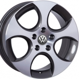 Диски WSP Italy VOLKSWAGEN W444 CIPRUS ANTHRACITE+POLISHED