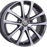 Диски WSP Italy VOLKSWAGEN W454 EOS Riace ANTHRACITE+POLISHED