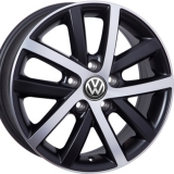 Диски WSP Italy VOLKSWAGEN W460 Rheia DULL+BLACK+POLISHED