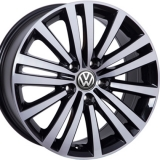 Диски WSP Italy VOLKSWAGEN W462 ALTAIR GLOSSY+BLACK+POLISHED