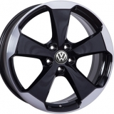 Диски WSP Italy VOLKSWAGEN W465 Laceno GLOSSY+BLACK+POLISHED