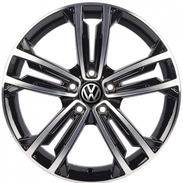 Диски WSP Italy VOLKSWAGEN W471 NAXOS GLOSSY+BLACK+POLISHED