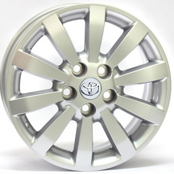 Диски WSP Italy TOYOTA W1752 AURIS SILVER