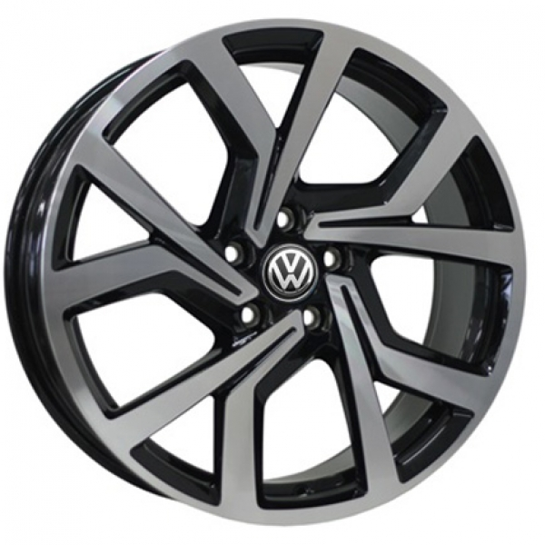 Диски WSP Italy VOLKSWAGEN W469 GIZA GLOSSY+BLACK+POLISHED