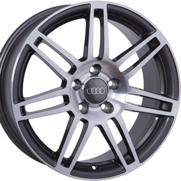 Диски WSP Italy AUDI W557 S8 COSMA TWO ANTHRACITE+POLISHED