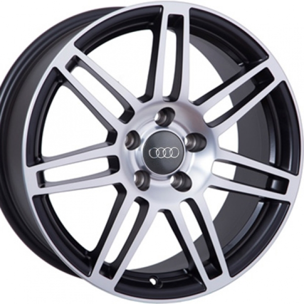 Диски WSP Italy AUDI W557 S8 COSMA TWO BLACK+POLISHED