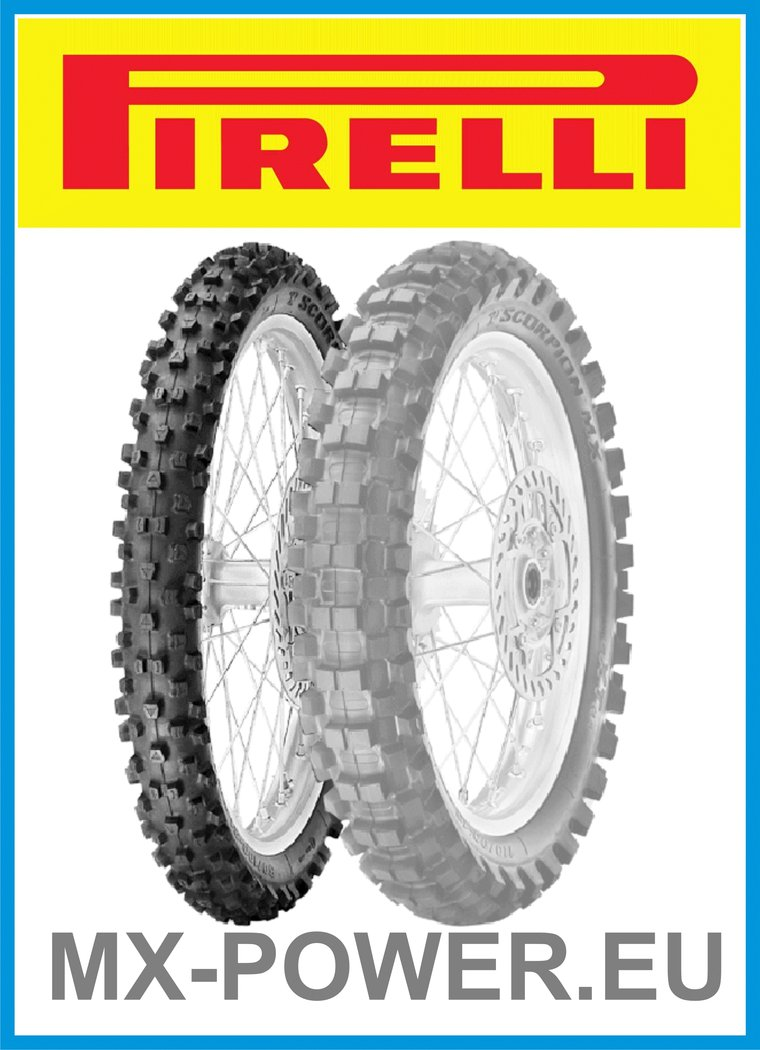 Моторезина Pirelli SCORPION MX EXTRA JR 90/100 R16 51M купить в Киеве, цена — ShinaDiski
