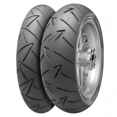 Моторезина CONTINENTAL ROAD ATTACK 2 190/55 R17 75W купить в Киеве, цена — ShinaDiski