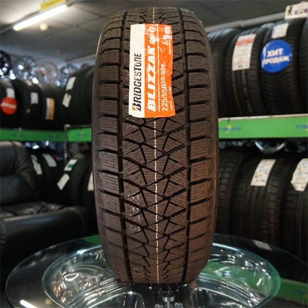 «имн¤¤ шина Bridgestone Blizzak DM-V2 275/45 R20 110T - фото 9